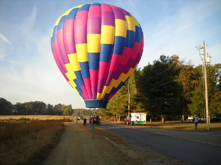 Delmarva Balloon Rides Maryland